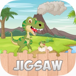 Dinosaur Jigsaw Puzzles Games for Kids and Toddler