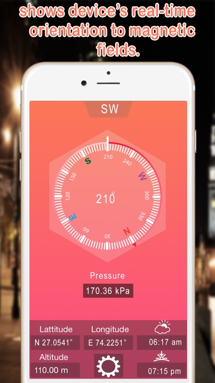 Heading GPS Compass | Compass Altimeter screenshot-1