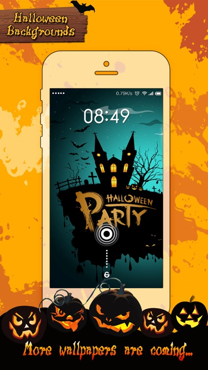 Halloween Wallpapers Hd Pro Pumpkin Background Booth To Decorate