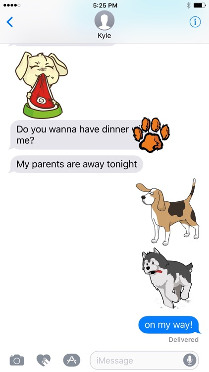 Chat Dogs: Puppy Stickers for iMessage Texting
