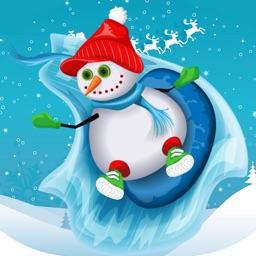 Christmas Snowman Stickers Pro