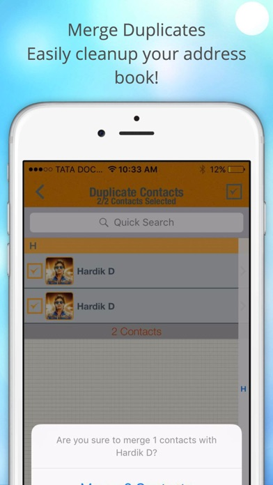 ContactManager Pro – Remove & Merge Duplicate Contacts | App Price Drops
