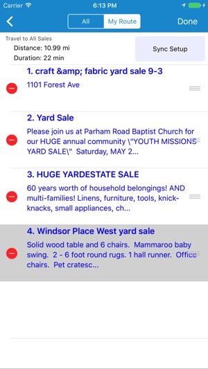 Yard Sale Treasure Map On The App Store - Garage sale treasure map
