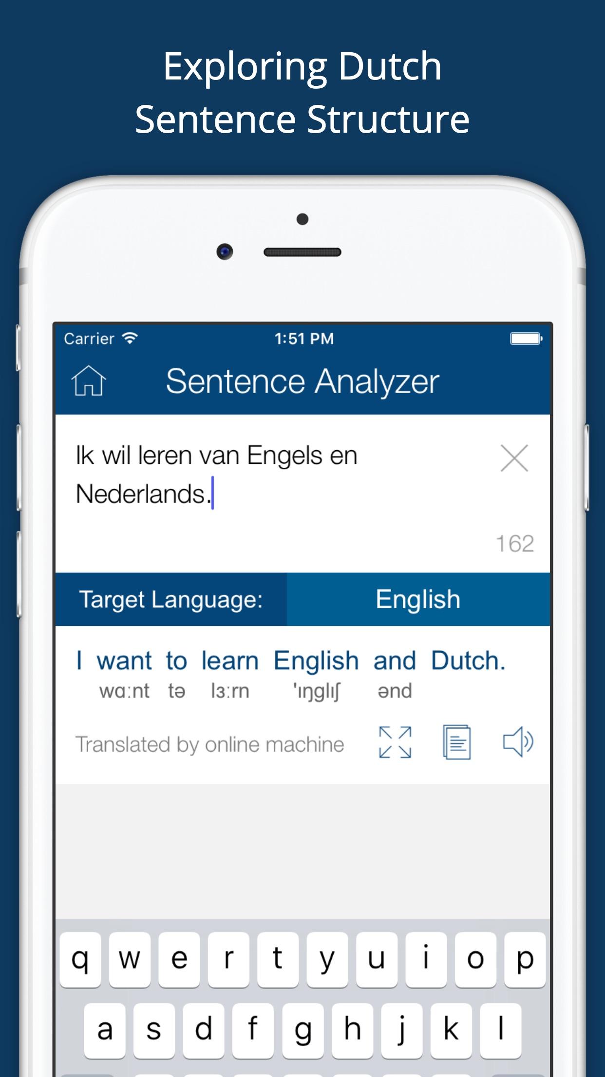Dutch English Dictionary Pro Screenshot