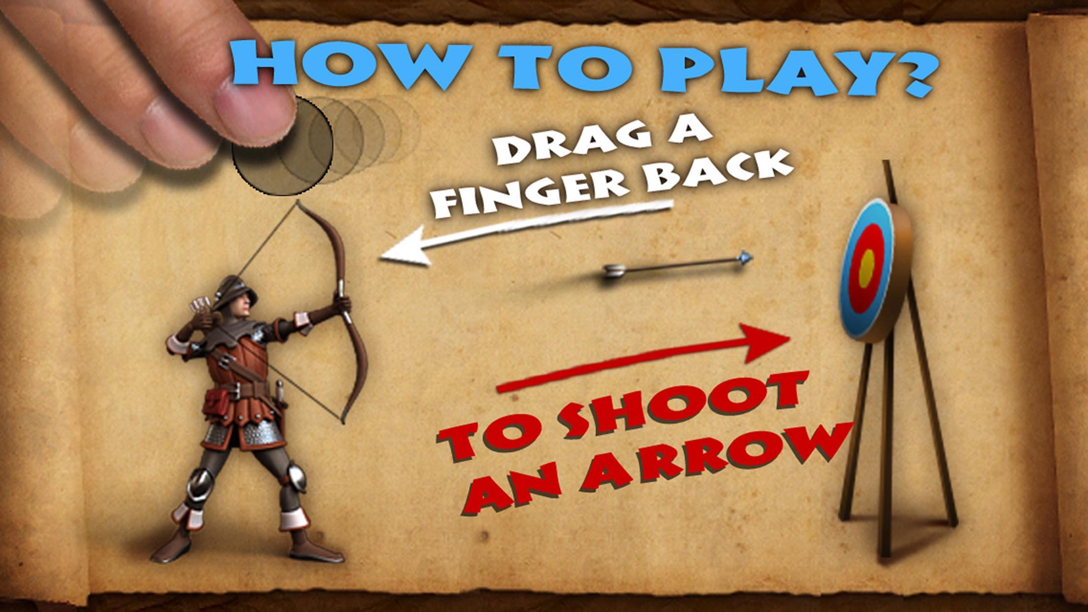 Bowman - bow and arrow games Screenshot
