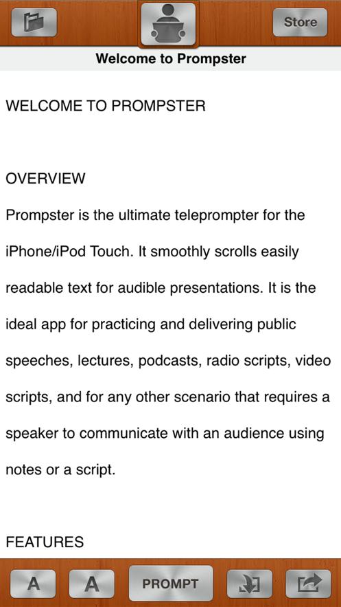 Prompster Pro™ - Teleprompter App 截图