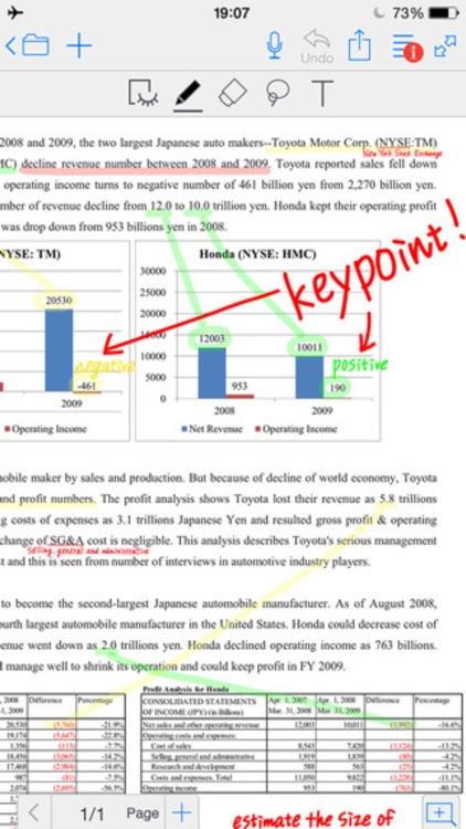 Notes Pro - Annotate PDF, Recording, Handwriting