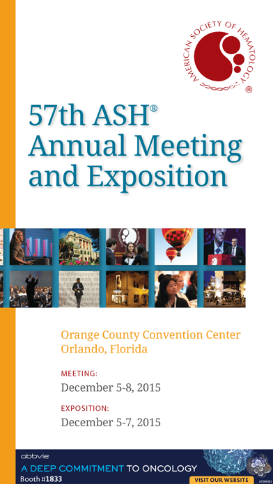 2015 ASH Annual Meeting & Expo-0