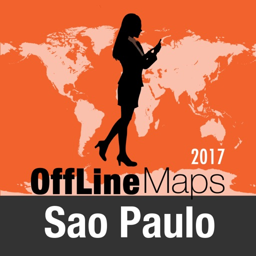 Sao Paulo Offline Map and Travel Trip Guide