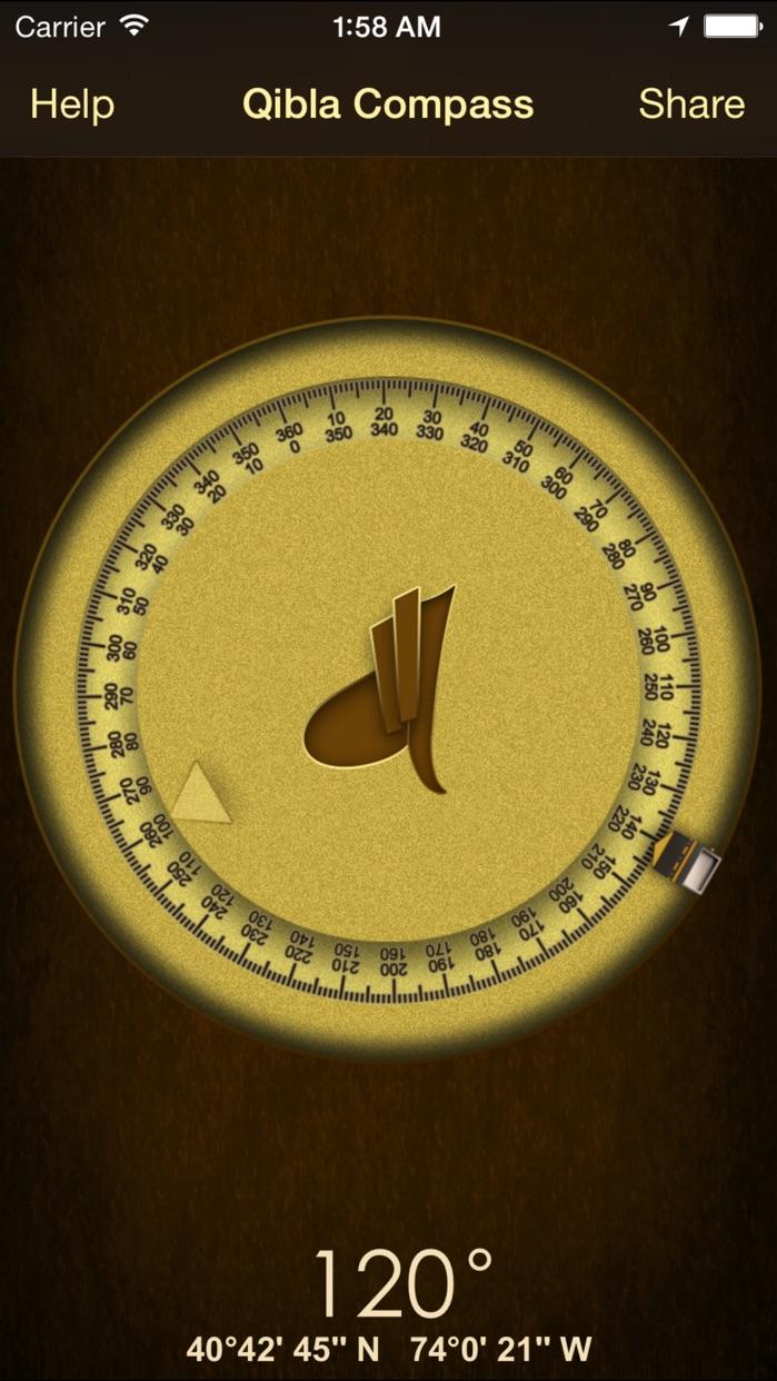 iSalam: Qibla Compass Screenshot