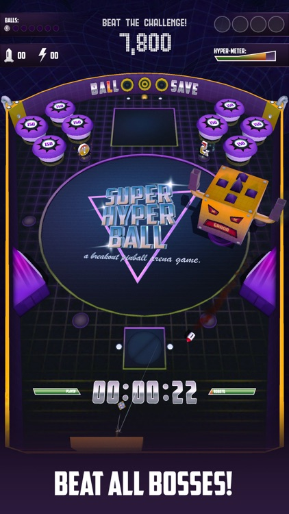 Super Hyper Ball screenshot-1