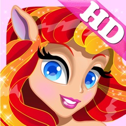 PONY Dress Up Games with Christmas Princess for my little Toddler Girls HD