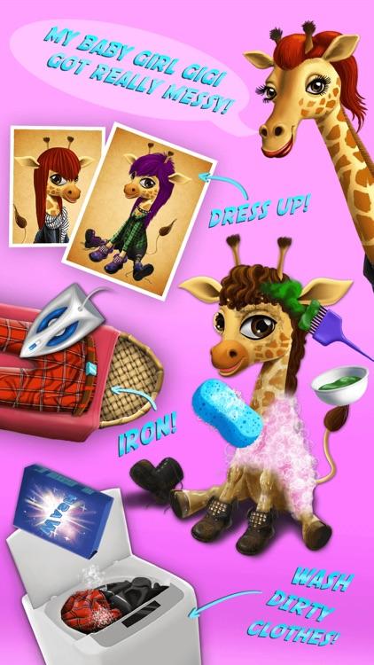 Baby Animal Hair Salon 2 screenshot-3