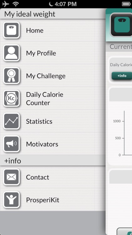 My Ideal Weight: Diet tracker and calorie counter screenshot-4