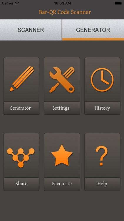 Bar/QR-Code Scan&Generator screenshot-3