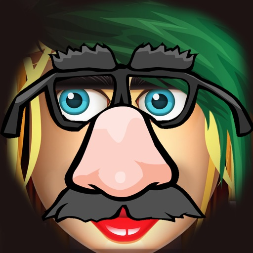Funny faces - add stuff to photos! icon