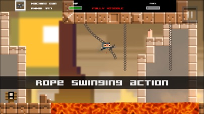 Screenshot from Tons of Bullets! Super 2D Action Adventure Game