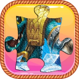 Cartoon Jigsaw Puzzles Free Games - For Skylanders