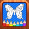 Butterfly Kids Coloring Books for Baby and Toddler