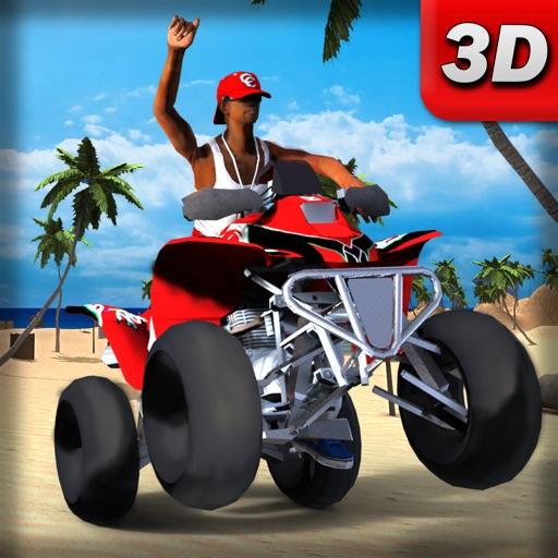 Пляж велосипед для бездорожья так же гонки 3D - экстремальный Stunt вождения & Superbike игра