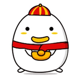 Happy Chicken - Animated Stickers And Emoticons