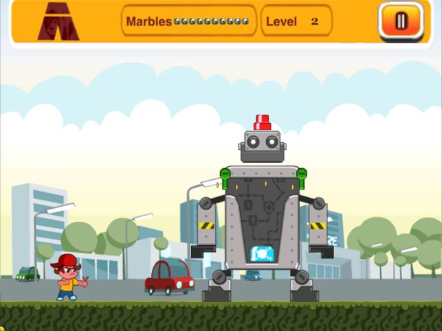 Big Evil Robots Lite, game for IOS