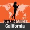加利福尼亚州 离线地图和旅行指南