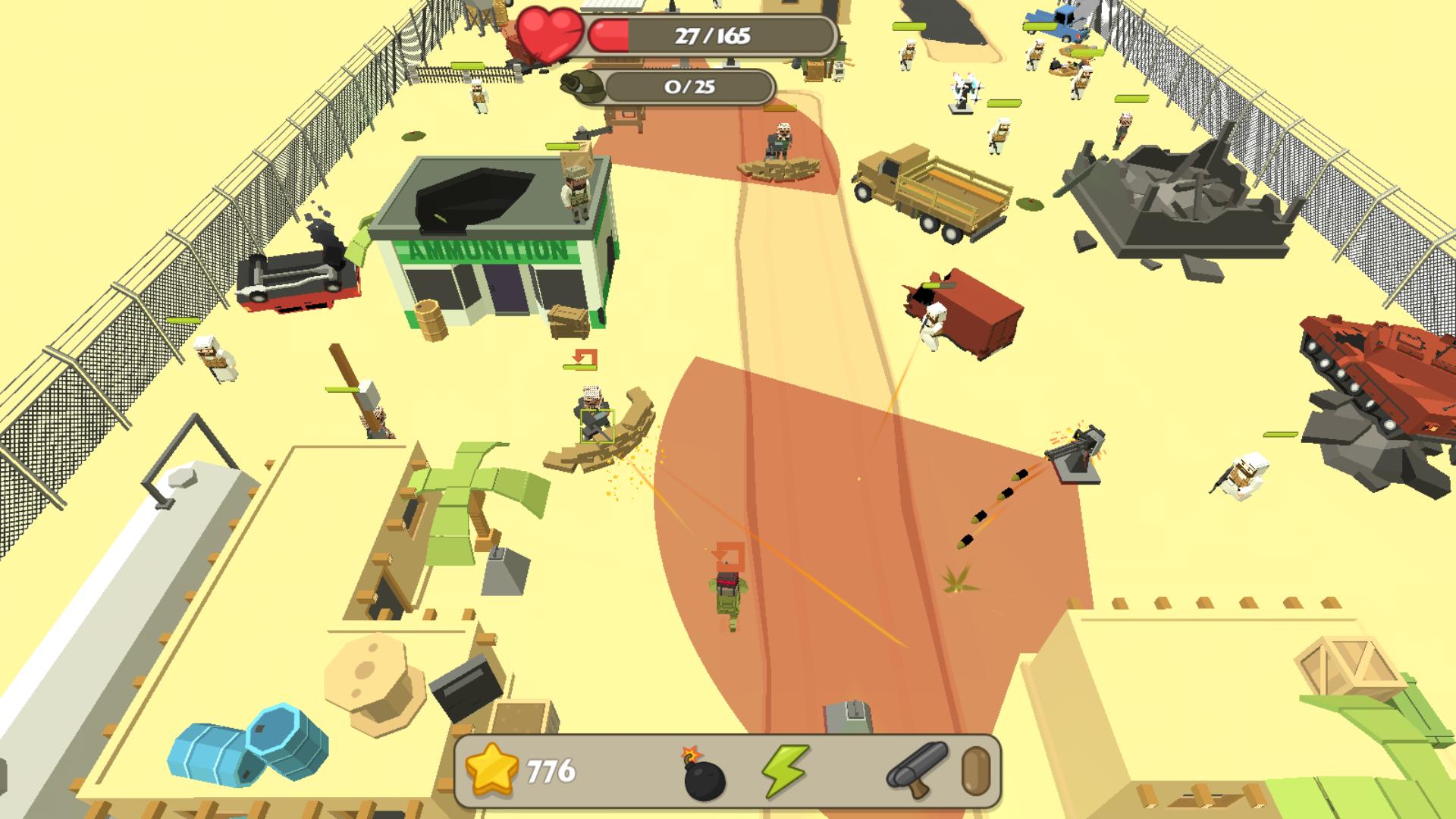 Backstorm Attack - Endless RPG War Runner screenshot 14
