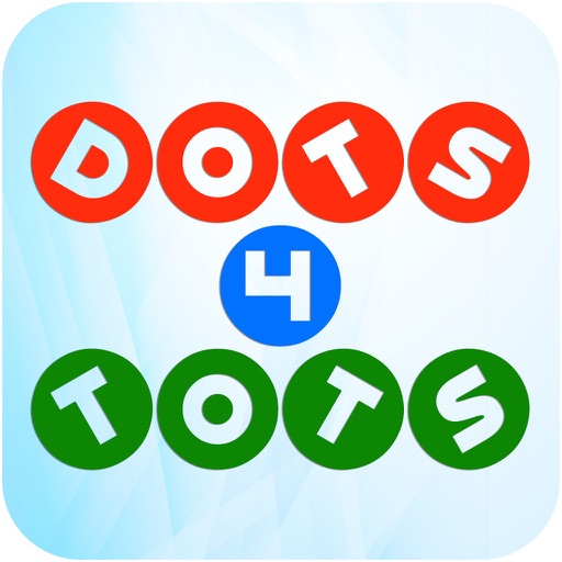 Dots for tots - teach toddlers to draw, count and alphabet