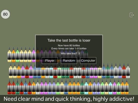 Taking how many bottles? Screenshots