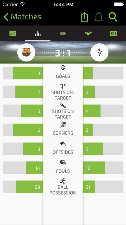 LIVEGOALS - Football live score, results, teams and leagues screenshot-4