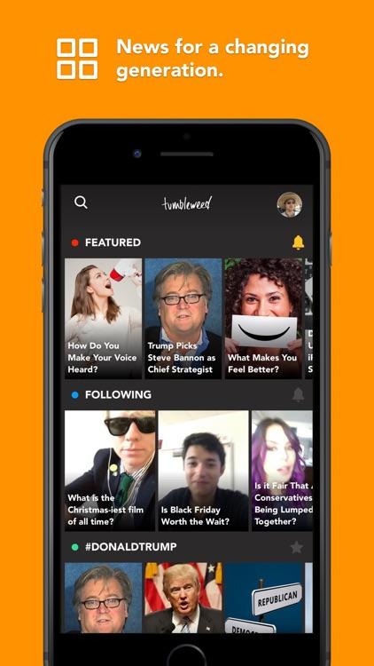 Tumbleweed - News screenshot-3