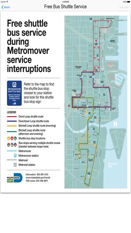 Miami Metro Rail Maps screenshot-3