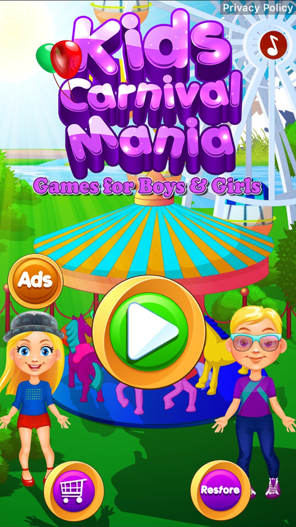 Kids Carnival Mania – Games for Boys & Girls
