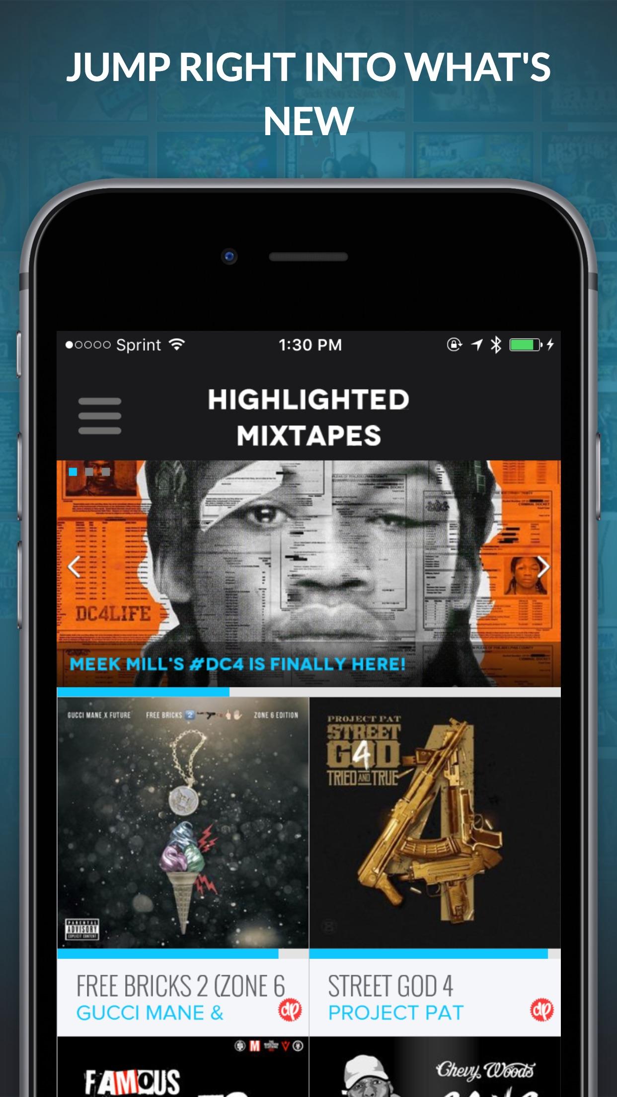 DatPiff Screenshot