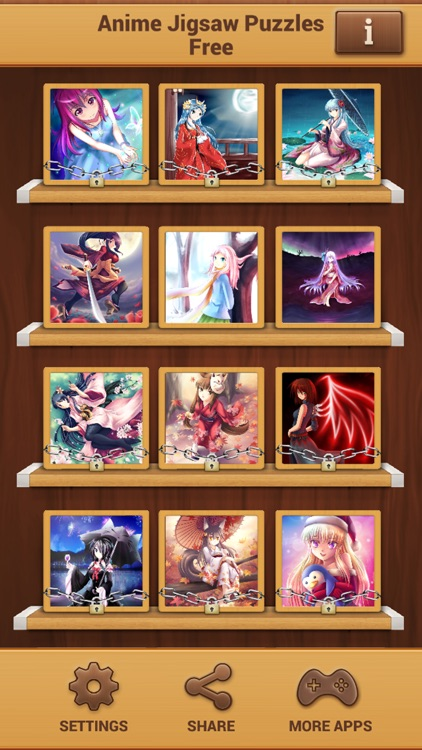 Anime Jigsaw Puzzles Free - Matching Puzzle Games