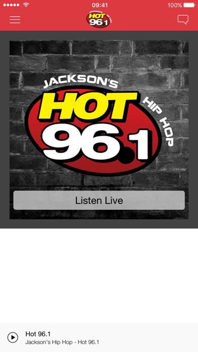 Hot 96.1 screenshot one