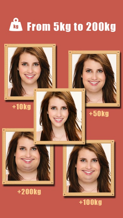 Make Me Fat -Crazy Funny Plump Face Changer Boothのおすすめ画像2