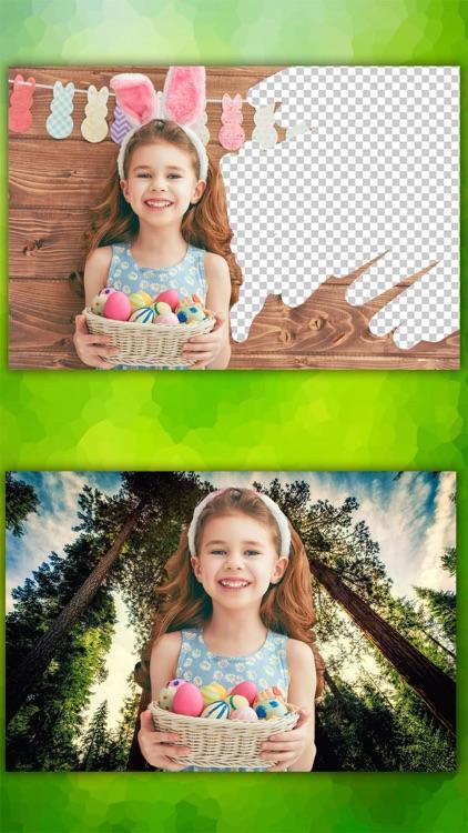 Photo background eraser – Cut paste editor