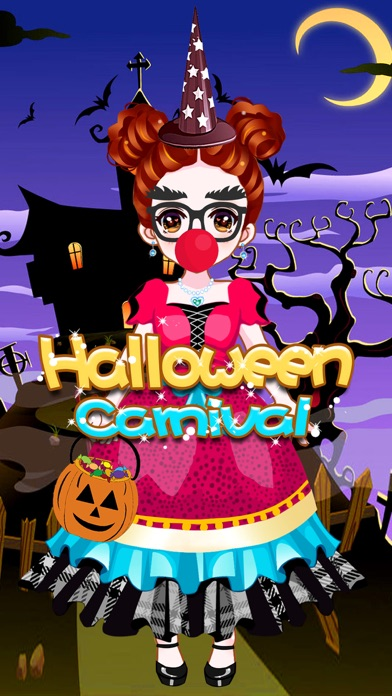 Halloween Carnival - Makeover Game for girls screenshot four