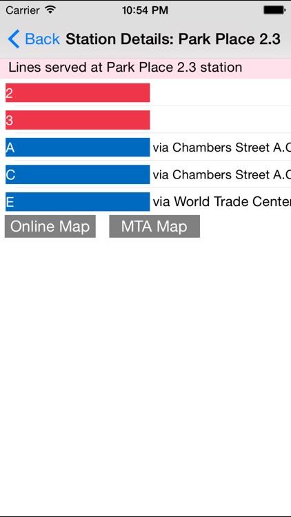 Newyork Subway Route Planner screenshot-3