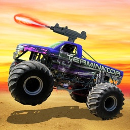 Monster truck Offroad Shooting - Top Racing Game