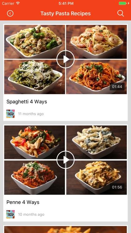 Pasta Recipes: Food recipes, cookbook, meal plans screenshot-3