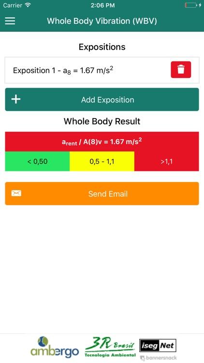 VibAdVisor WBV (VCI) - Whole Body Vibration screenshot-3