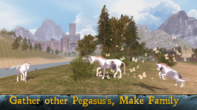 Flying Pegasus: Magic Horse Simulator 3D screenshot three