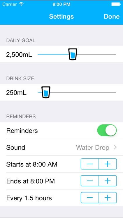 Watered screenshot-3