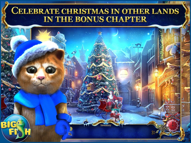 Christmas Stories: Puss in Boots HD - A Magical Hidden Object Game (Full) screenshot-3
