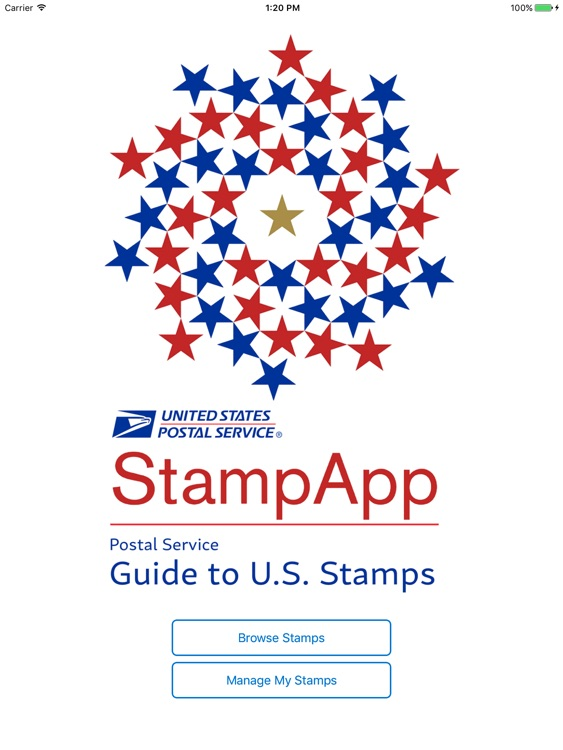 USPS StampApp for iPad