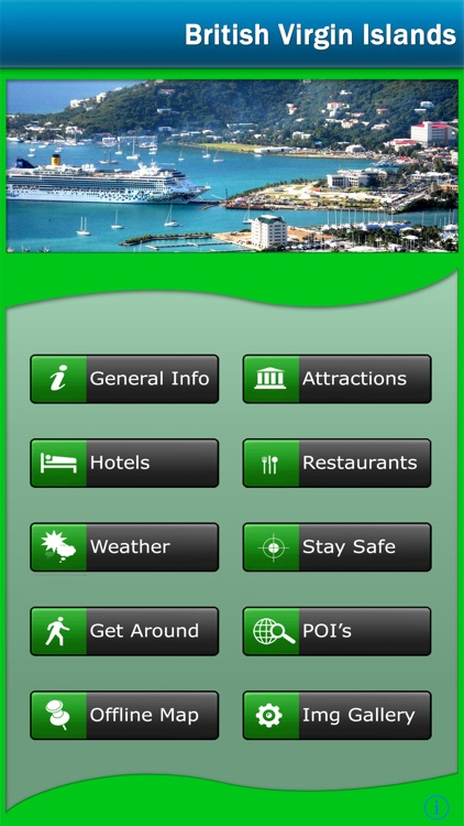 British Virgin Islands offline Map Travel Guide screenshot-0