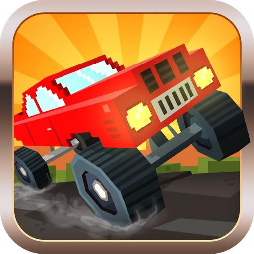 Blocky Racing - Race Block Cars on City Roads iOS App